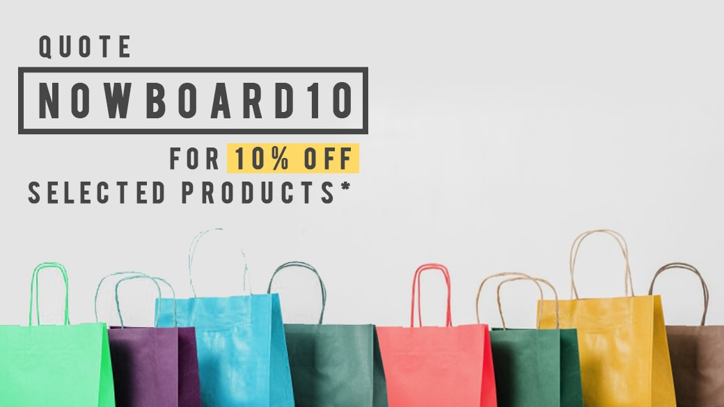 [BONUS] Exclusive promotion for Now Boarding readers